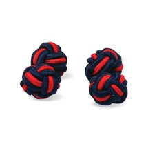 Spinki Casualowe Navy Blue Red